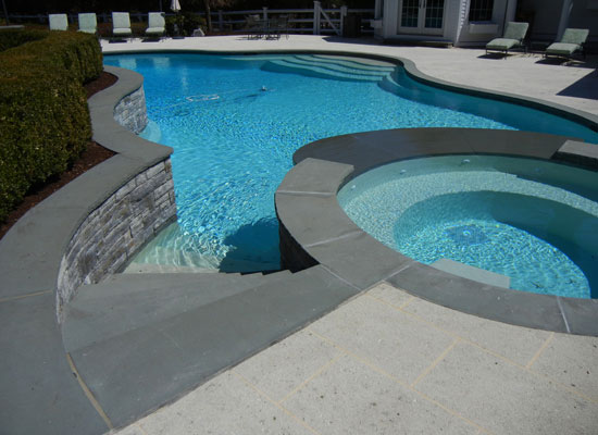 Granite coping in Palm Beach and Broward County